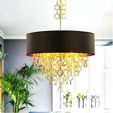 black and gold pendant light creative modern metal tassels fabric shade lights lamps hanging coast gol modern gold pendant lights
