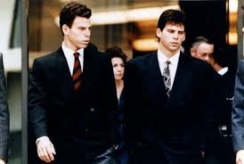Menendez brothers trial dr oziel cross examination. The Menendez Brothers Put On A Good Show For The Cameras During The First Trial Presenting Themselves As Sophisticat Menendez Brothers Mendez Brothers Brother