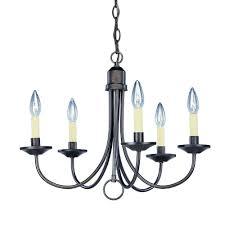 progress lighting 5 light antique bronze chandelier