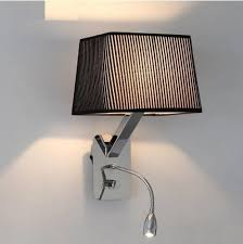 bedroom wall lighting fixtures. aliexpresscom buy creative fabric wall sconces band switch modern led reading light fixtures for bedroom lamp home lighting lamparas from i