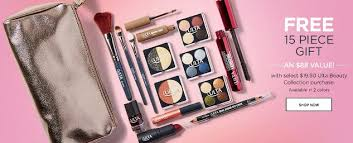 free 15 piece ulta gift with 1950 purchase 8 2