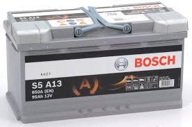 S5 A13 Bosch Agm Car Battery 12v 95ah Type 019 S5a13
