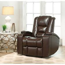 home theater chairs. mastro leather power-reclining home theater chair chairs