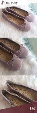 New Sam Edelman Pastel Lavender Suede Flats Brand new without ...