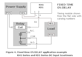 ics time delay module applications and wiring fixed on timing application