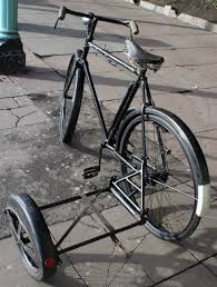 Sidecar Chassis Design 1933 Raleigh Popular All Weather Gents Bicycle With