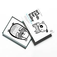 black and white pictures for babies printable amazon com wee gallery art cards for baby high contrast black and