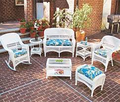 wicker patio furniture. Mid Size Wicker Patio Furniture W