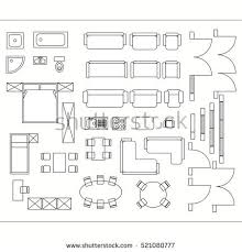 drawing furniture plans. Architectural Drawing For Planning Construction And Home Improvement.  Symbols Used Furniture Architecture Plans Icons Set. Graphic Design Elements V