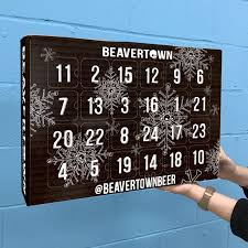 advent calander beer and merch advent calendar back next year beavertown brewery