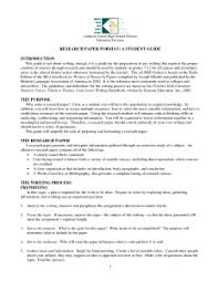 research paper outline research paper outline