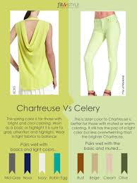 Color Lesson; Chartreuse vs Celery