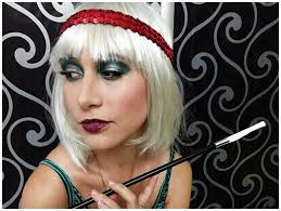 picture of flapper makeup for