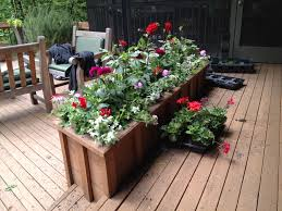 Lawn & Garden:Garden Planter Boxes Ideas With Wooden Container Lovely  Modern Planter Flowers Box