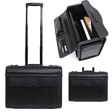 attorney rolling briefcase wheeled bag lawyer legal case laptop case mens women
