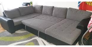 Sofa Schlafsofa U Form