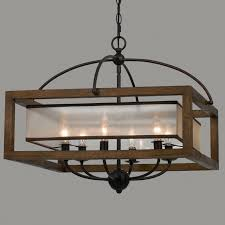 gorgeous wood chandelier lighting 3 square frame and sheer large jpg c 1494598799