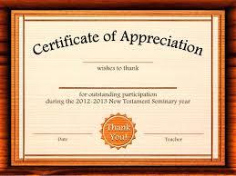 Best Teacher Certificate Templates Free Teacher Of The Year Award Certificate Template Free Appreciation