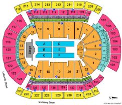 Prudential Center Newark Concert Seating Chart