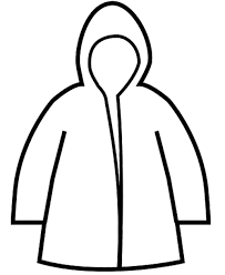 Small Picture Raincoat Winter Coloring Page coloring pages Pinterest