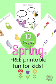 There are so many free spring coloring pages here that you'll be able to make a whole printable coloring book by the time you're done. Free Spring Printable Colouring Pages And Activity Pages How Wee Learn