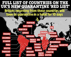 The government's initial announcement covered countries which were already subject to a travel ban due to concern over new mutant covid strains such as south. Et5qebll9gavym
