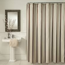 Bathroom Bath Shower Curtains And Shower Curtain Hooks Touch Of Gold And White Striped Shower Curtain