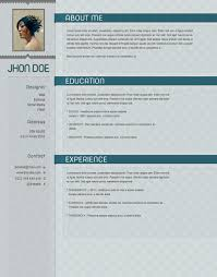 Unique Creative Resume Formats Free Frieze Documentation Template