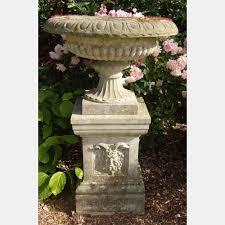 garden urns vintage garden antique stone