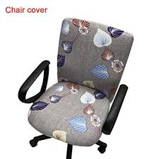 office armchair covers. Office Computer Chair Covers Printed Stretch Task Cover Slipcover For  Rotating Armchair Office Armchair Covers I
