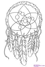 Drawn Dream Catchers Dream Catcher Coloring Pages P On Drawn Dreamcatcher Flower Pencil 92
