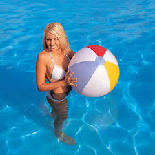 pool water with beach ball. Image Is Loading INFLATABLE-24-034-BEACH-BALL-KIDS-CHILDRENS-POOL- Pool Water With Beach Ball