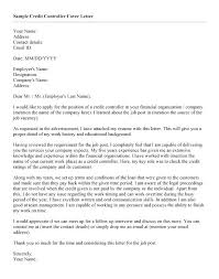 Controller Cover Letter Examples Finance Controller Cover Letters