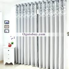room darkening curtains modern luxury soundproof thermal grey with white canada