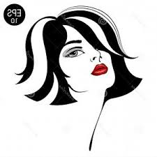 Woman Face Fashion Girl Beauty Vector Cqrecords