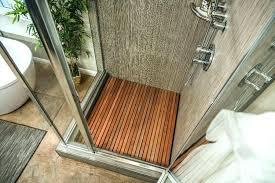 teak shower floor how to home family wooden slat hallmark with decor 3 insert uk ins