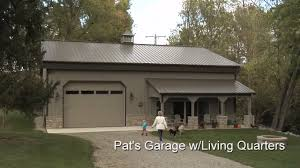 Barn Living Pole Quarter With Metal Buildings Garages With Living Quarters