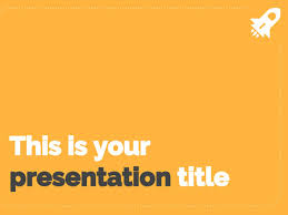 Simple Powerpoint Template Or Google Slides Theme With Professional