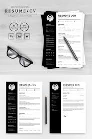 Resudrs Jon Designer Developer Resume Template 72096