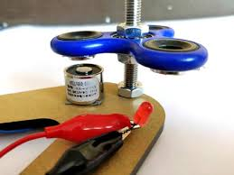 homemade electric generator. Fidget Spinner Electricity Generator Homemade Electric
