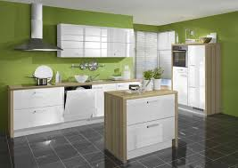 kitchens with white cabinets and green walls. Kitchen Cabinets Modern - Two Tone White Light Wood Island Green Walls Tile Floor Kitchens With And