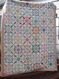 32 best 1940s Quilts images on Pinterest | Geometric designs ... & Vintage tied quilt, posted by Amy Karol at Angry Chicken. Adamdwight.com