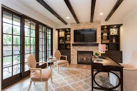 home office style. mix mediterranean touches with functional modern style design bdr fine homes home office