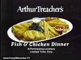 Arthur Treachers Fish And Chips Commercial 1980