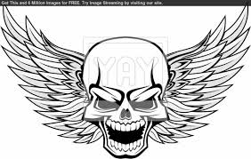 Small Picture Skull Coloring Pages Ppinewsco