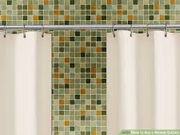 image titled a shower curtain step 10