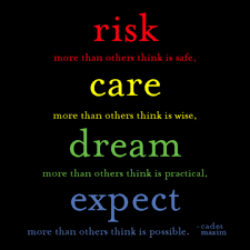 Risk Quotes Enchanting Inspiration 48 Risk Care Dream And Expect RSquared Comicz