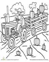 Small Picture Pumpkin Patch Coloring Page Worksheets School and Fun worksheets