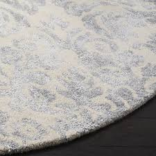 excellent willa arlo interiors mcguire hand tufted ivorysilver area rug intended for silver area rugs ordinary