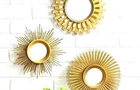 modern interior design medium size small mirror set mirrors wall decor vintage round decorative small